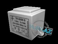 Фото Малогабаритный трансформатор для печатных плат ТН 42/20 G